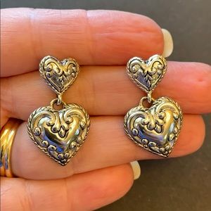 Premier designs heart earrings